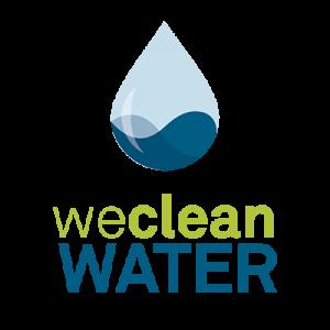 We Clean Water logo