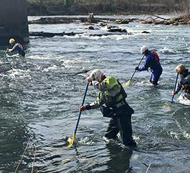 Water Safety under bridge