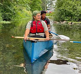 Whilamut Canoe Tour